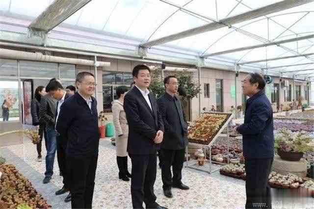 赵明印带队赴广饶县考察