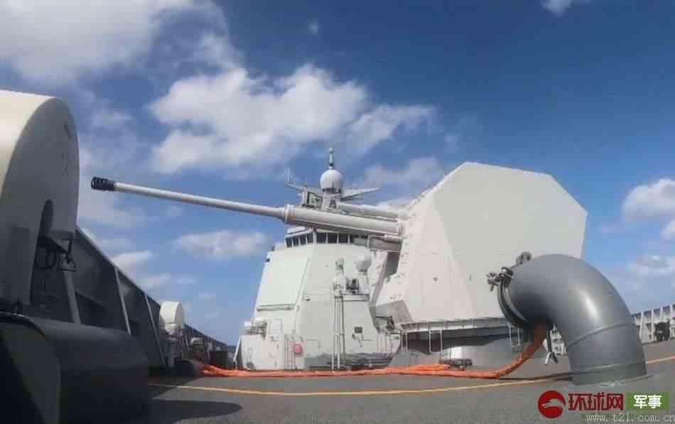 052D舰发射海红旗-9B画面曝光
