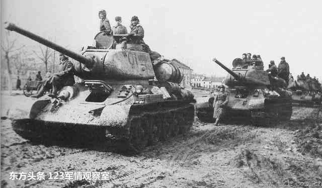 二战坦克现身如今战场上打仗还是凑数?
