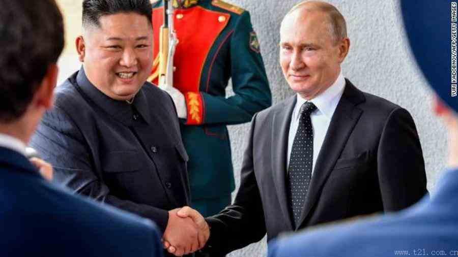 普京:支持缓解半岛局势,希望加强俄朝经济关系