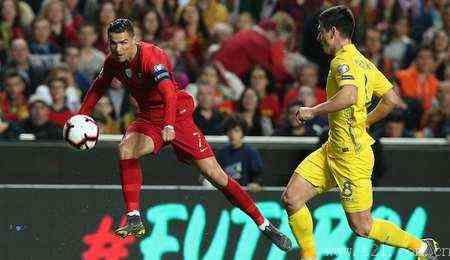 葡萄牙 0-0 闷平乌克兰